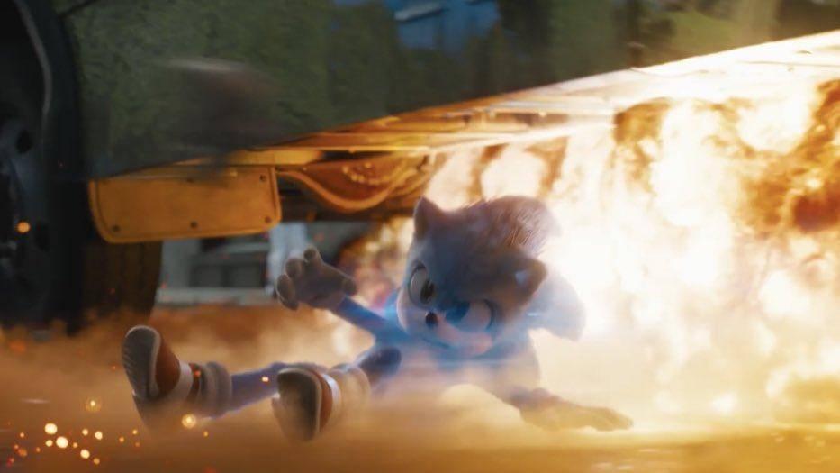 ¡Primer avance del Sonic re-diseñado!