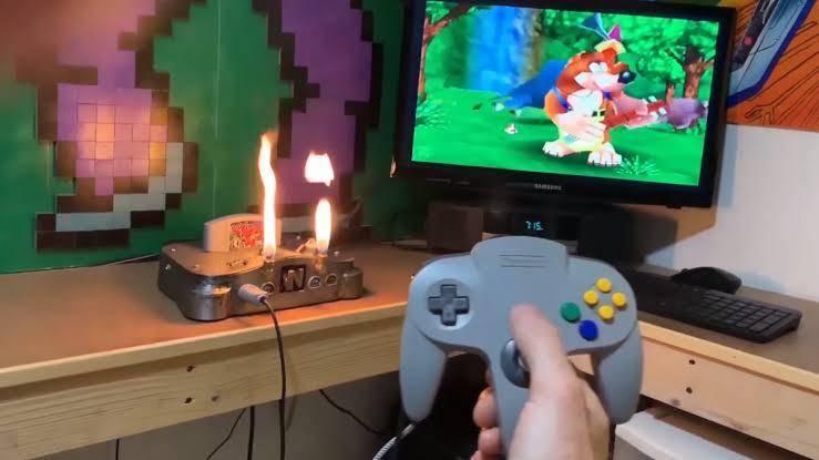 Nintendo, N64, Lanzallamas