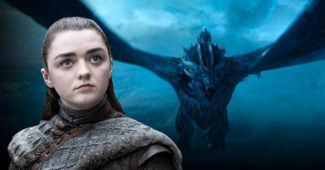 Game of Thrones, Arya, Drogon