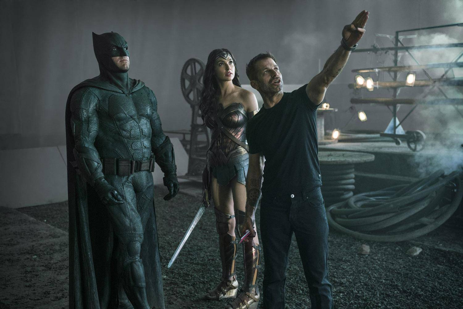 Zack Snyder, Snyder Cut, Justice League