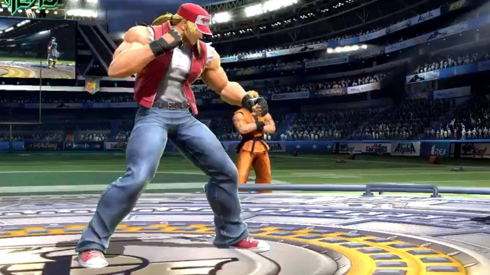 Terry Bogard Super smash bros ultimate