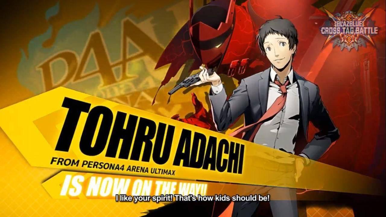 Tohru Adachi BlazBlue Cross Tag Battle
