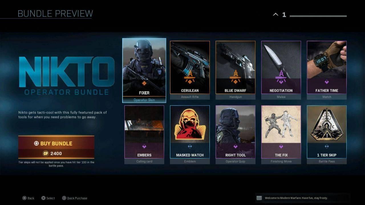 Nitko Call Of Duty Modern Warfare