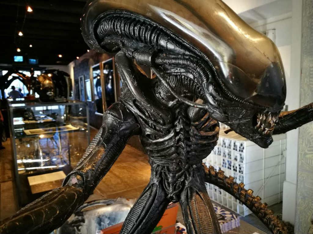 HR Giger, Alien