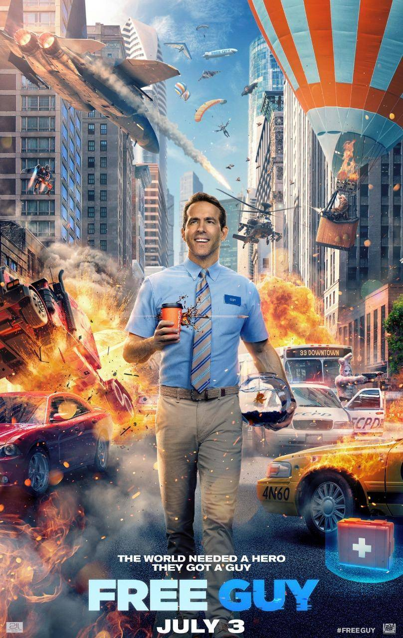 Free Guy, Ryan Reynolds