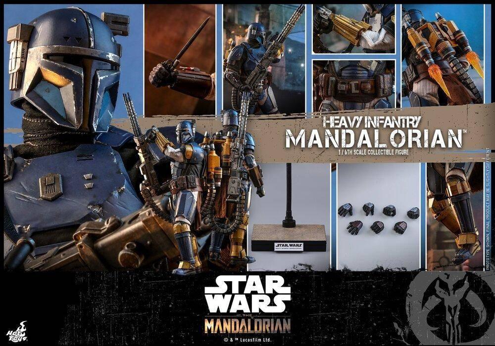 Heavy Infantry Mandalorian (Hot Toys)