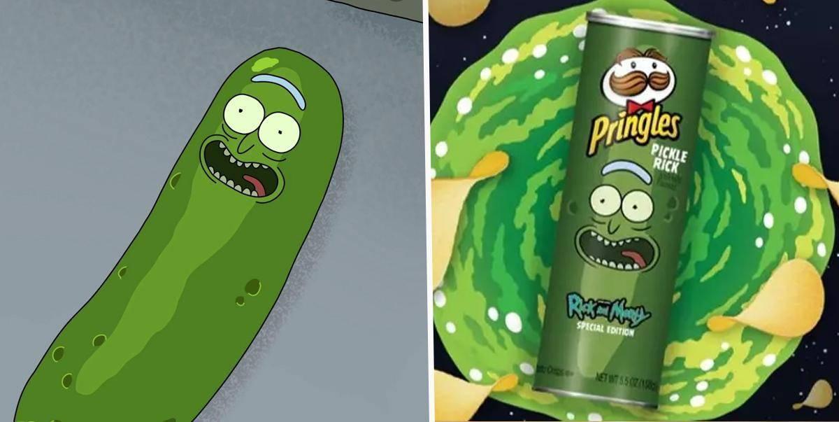 ¡Rick and Morty y Pringles se unen!