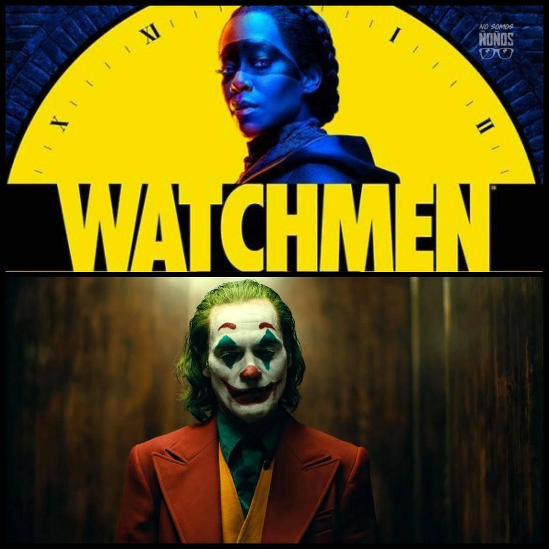 Joker y Watchmen ganadores de Lo Mejor del Año