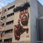 Attack on Titan Mural