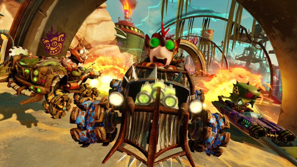 Rustland Crash Team Racing Nitro