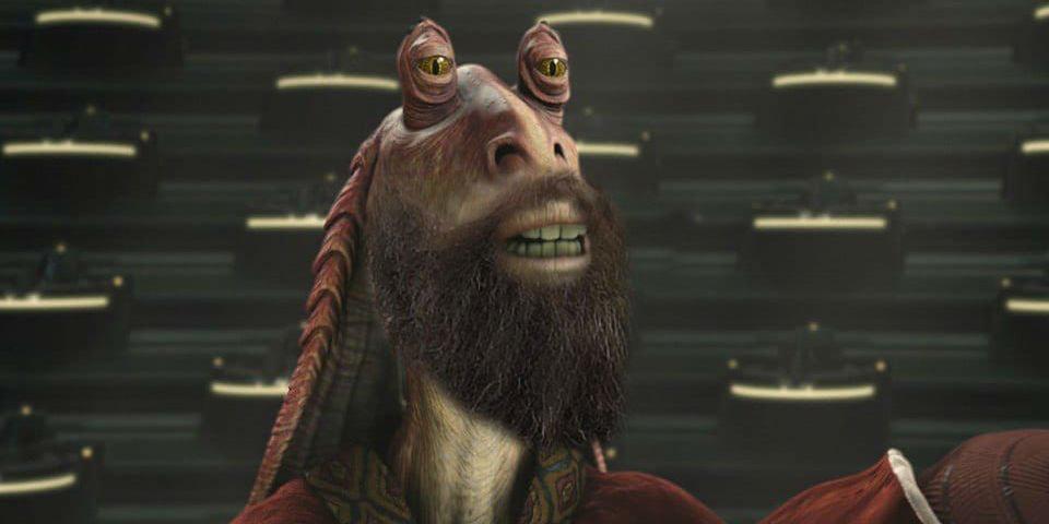 Jar Jar Binks, Obi Wan