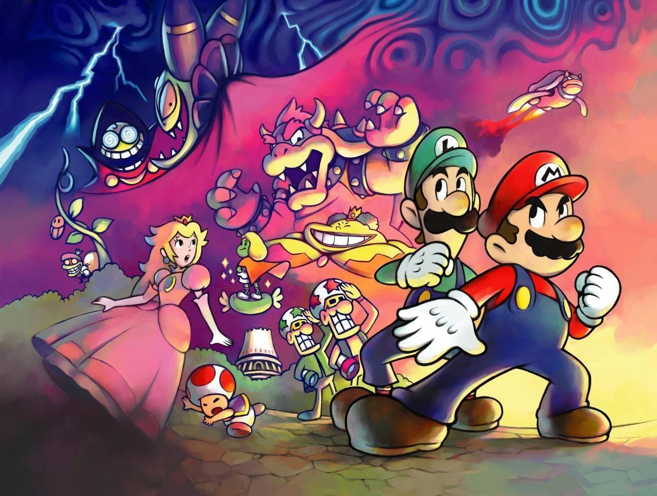 Rumor: La serie de Mario & Luigi llegará al Nintendo Switch.