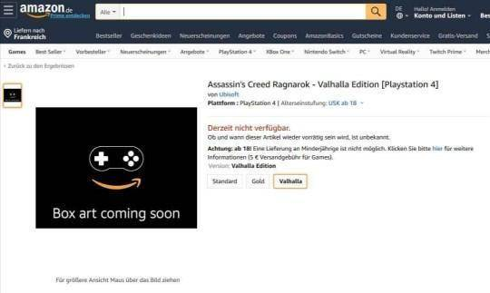Amazon Alemania Assassin's Creed