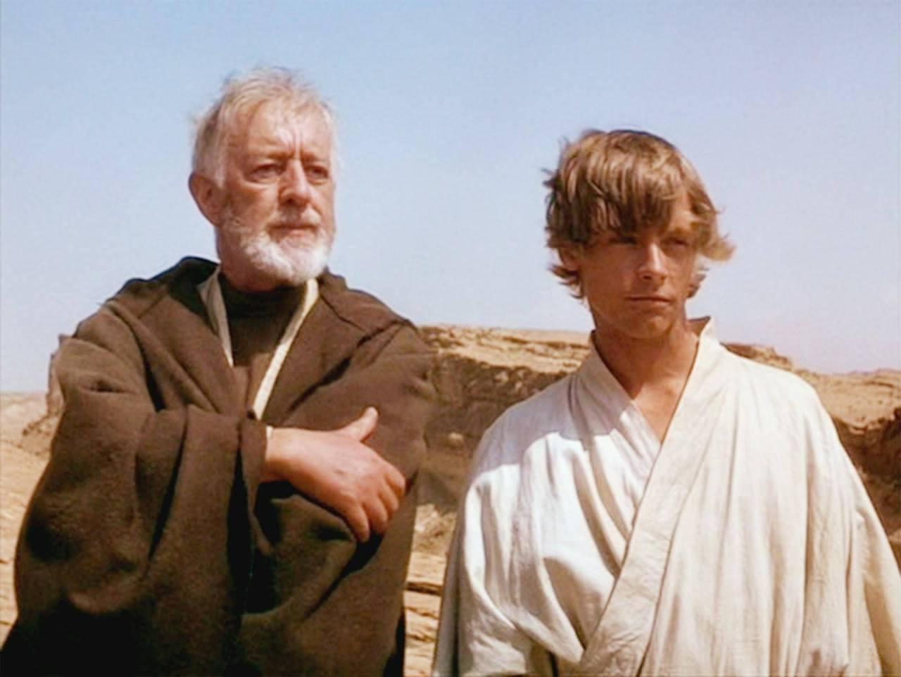 Obi Wan, Luke Skywalker