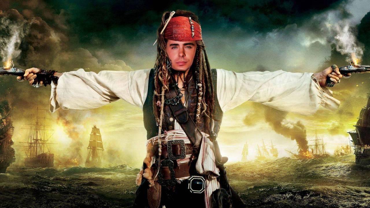 Rumor: Zac Efron será Jack Sparrow en la precuela de Piratas del Caribe