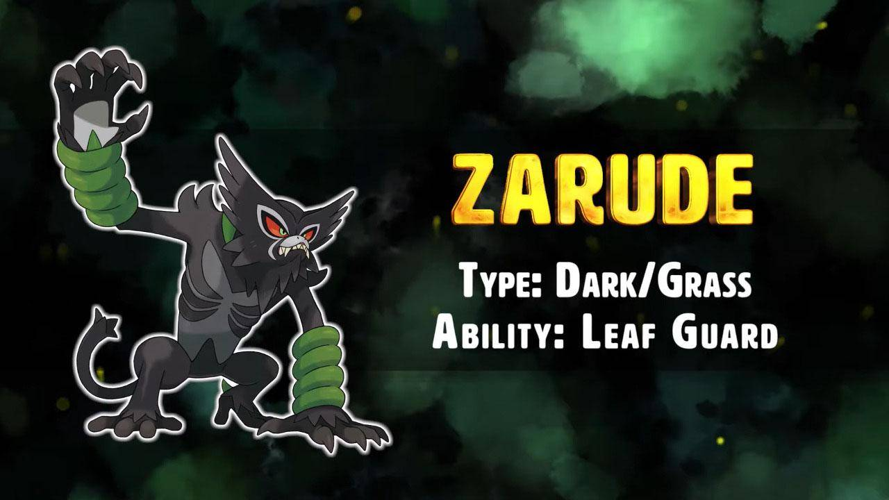 Zarude Dark/Grass (Pokémon)
