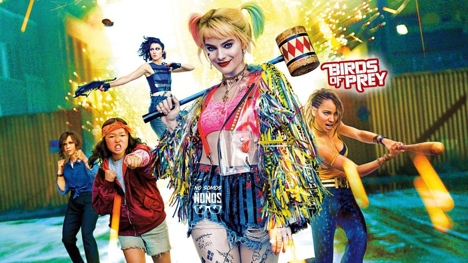 Reseña: Birds of Prey (and the Fantabulous Emancipation of One Harley Quinn)