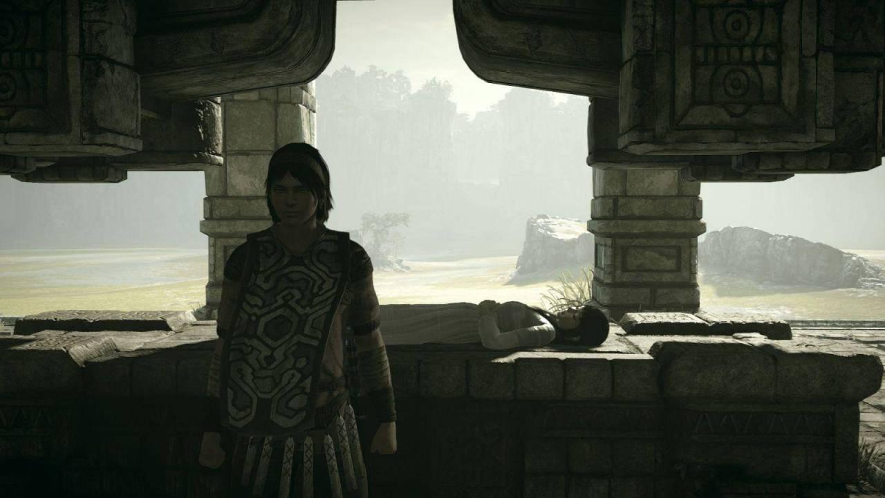 shadow of the colossus mono y wander parejas