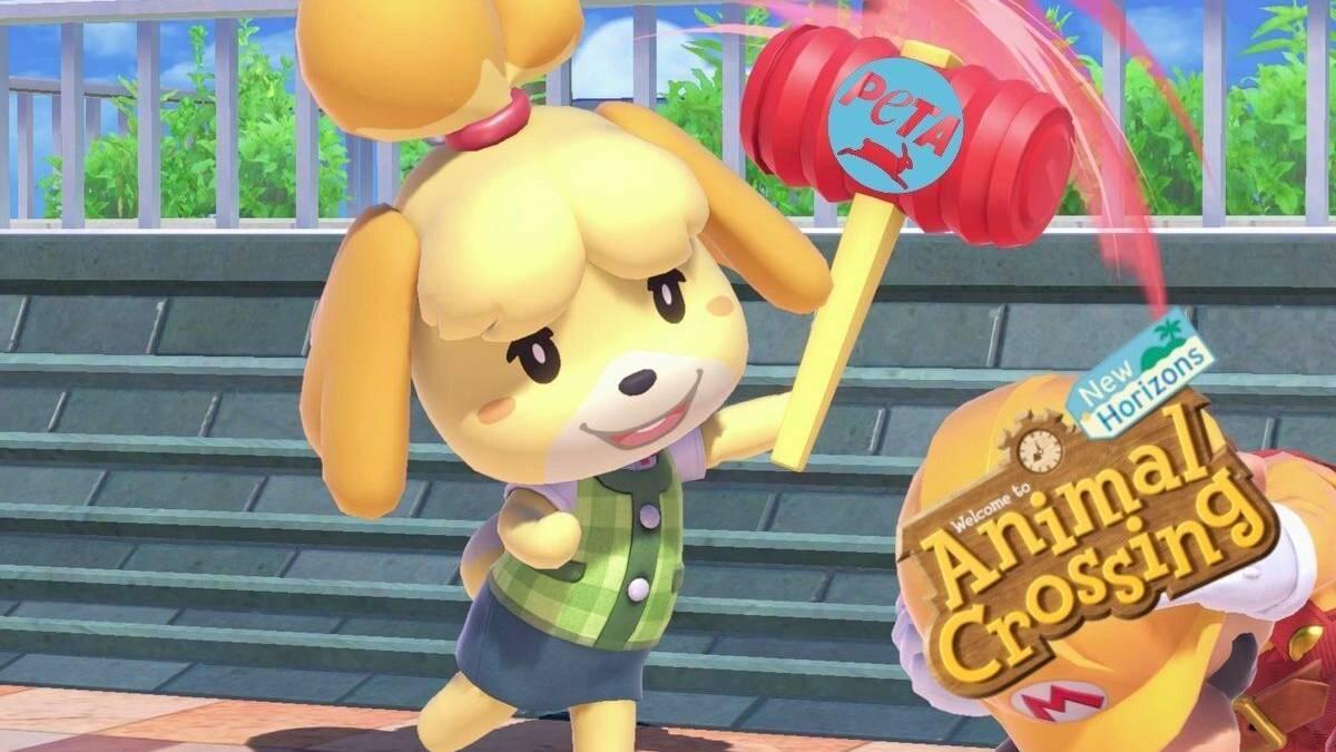 PETA, Animal Crossing