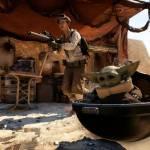 Baby Yoda Battlefront II (Póster)