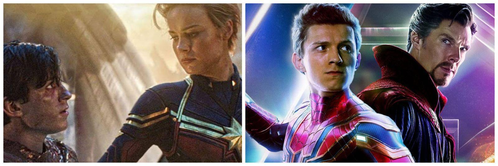 Spiderman (Captain Marvel +o Dr. Strange)