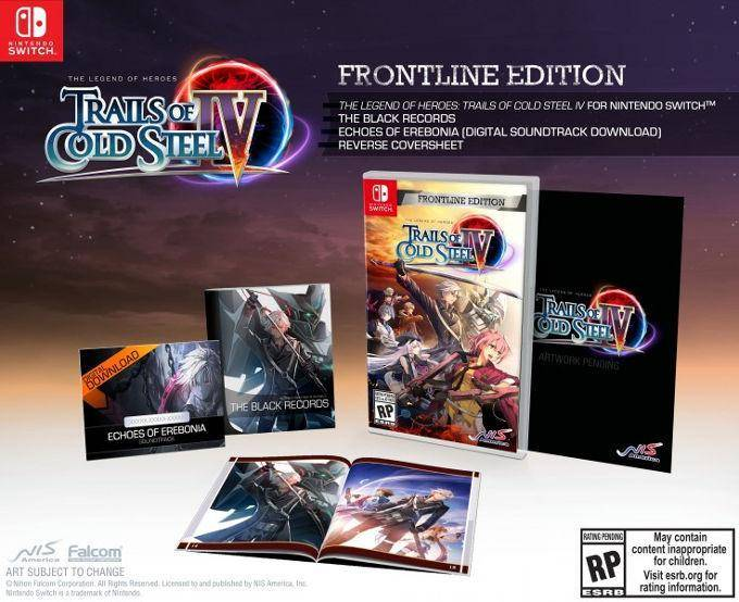 Trails of Cold Steel IV llega a PS4, Nintendo Switch y PC. 2