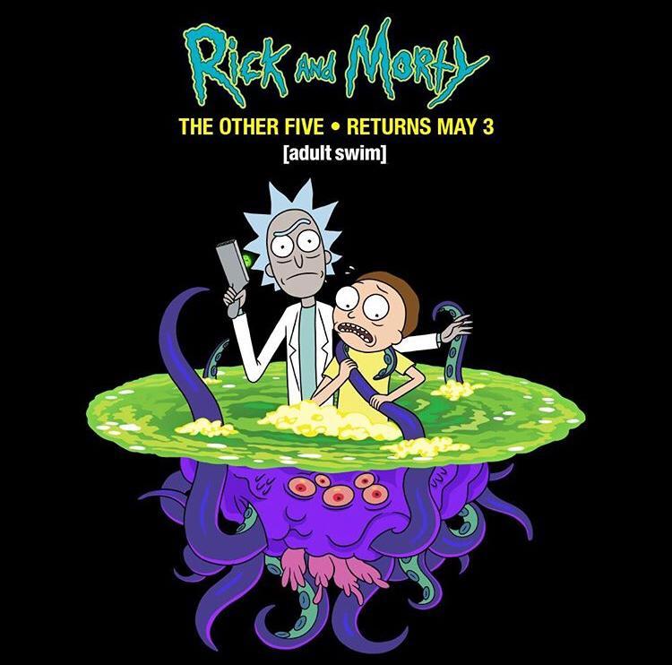 rick and morty regresa en mayo