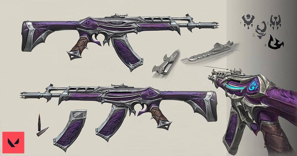 Valorant y el diseño de sus armas 2