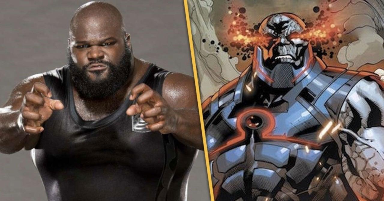 Mark Henry de la WWE quiere ser el Darkseid del Snyder Cut 1