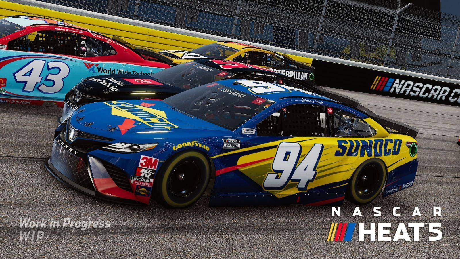 NASCAR Heat 5 presenta su primer avance 1