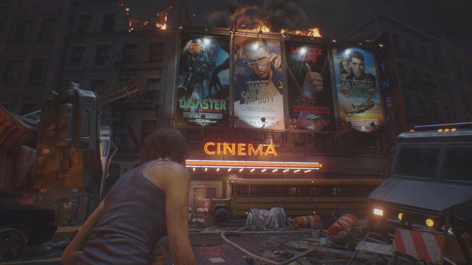 resident evil 3 cine posters