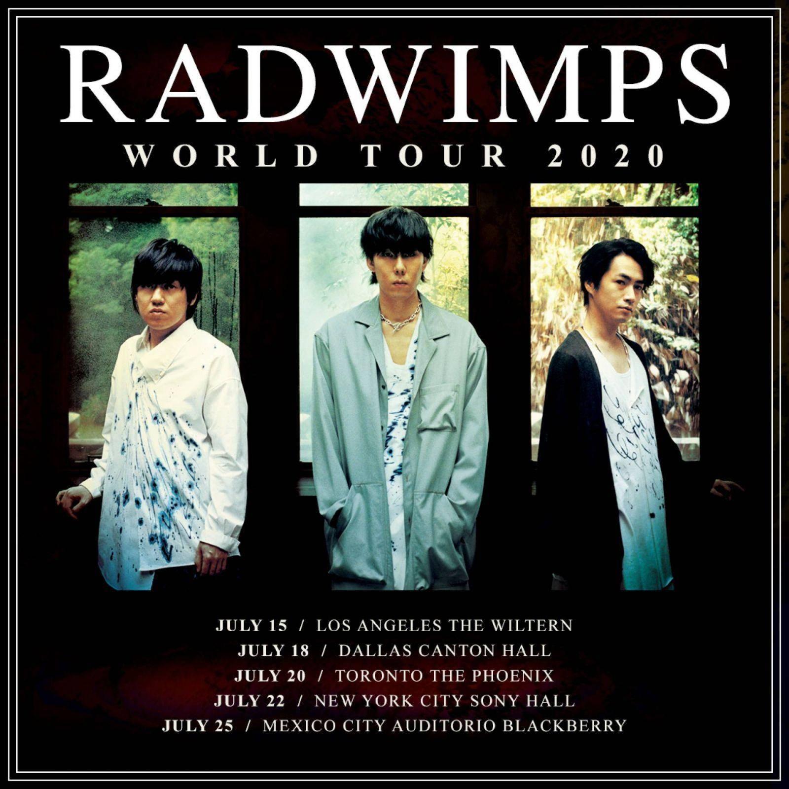 Radwimps cancela su concierto en México 1