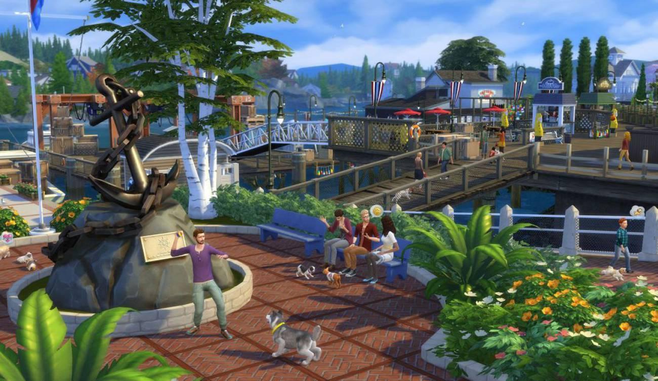 Orinar fuego, nuevo bug en Los Sims 4 1