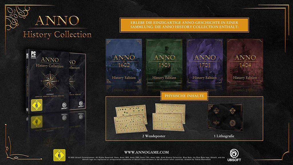 ¡Revive la historia de Anno con The Anno History Collection! 1