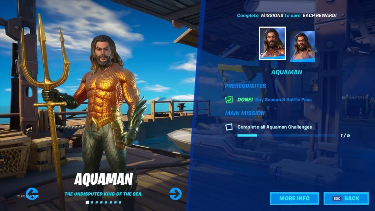 Fortnite Temporada 3, Capítulo 2: ¡Aquaman se une a la batalla! 2
