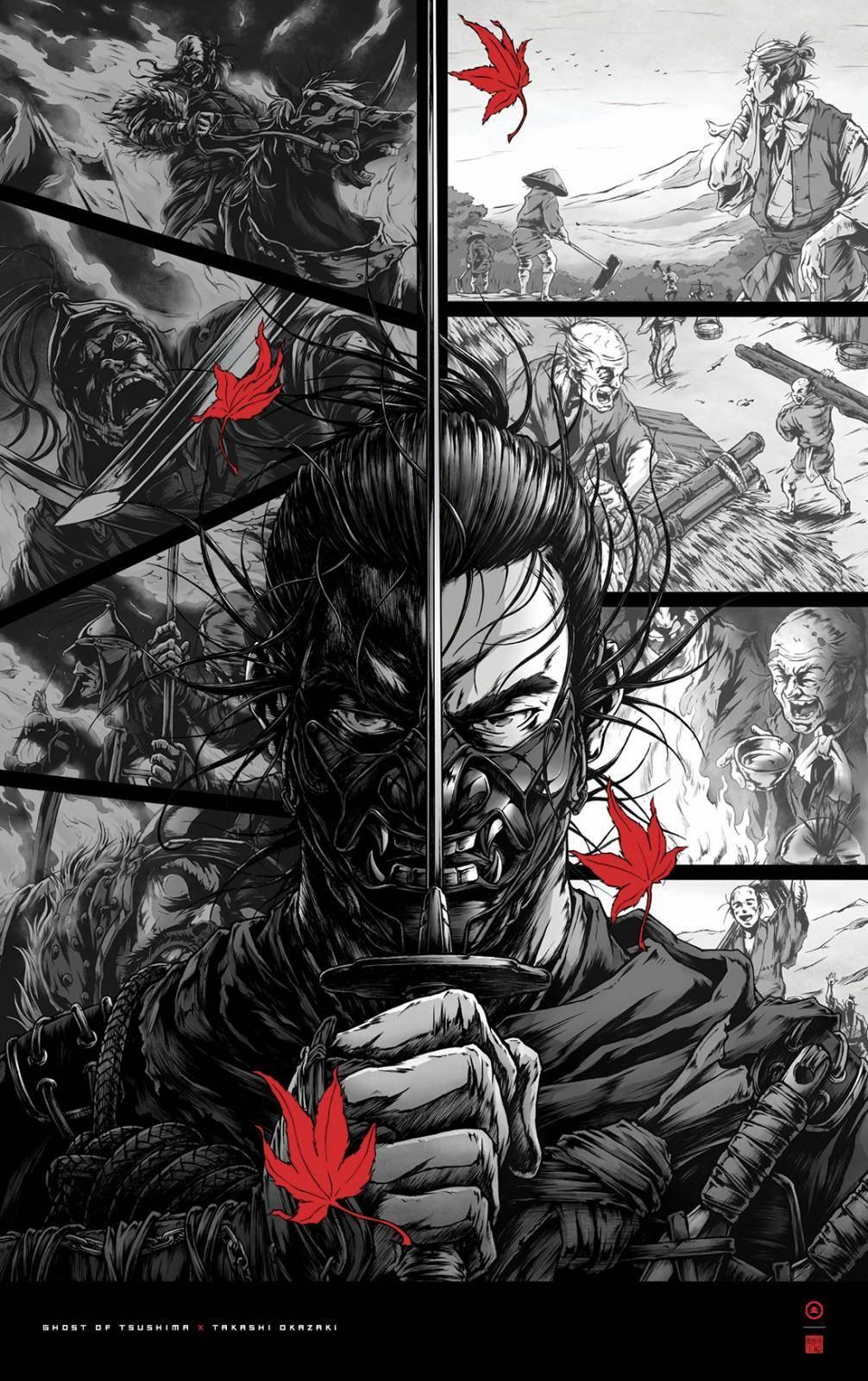 Ghost of Tsushima: Descarga estos 4 pósters especiales gratis 3