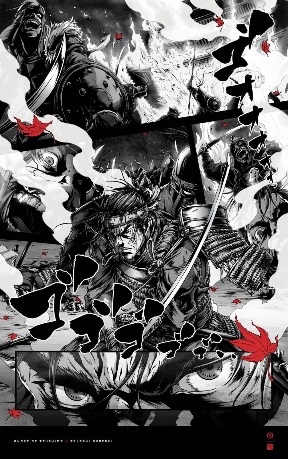 Ghost of Tsushima: Descarga estos 4 pósters especiales gratis 4