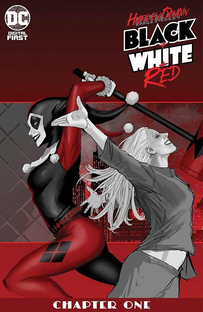 "DC Comics presenta ""Harley Quinn: Black + White + Red"" 1"