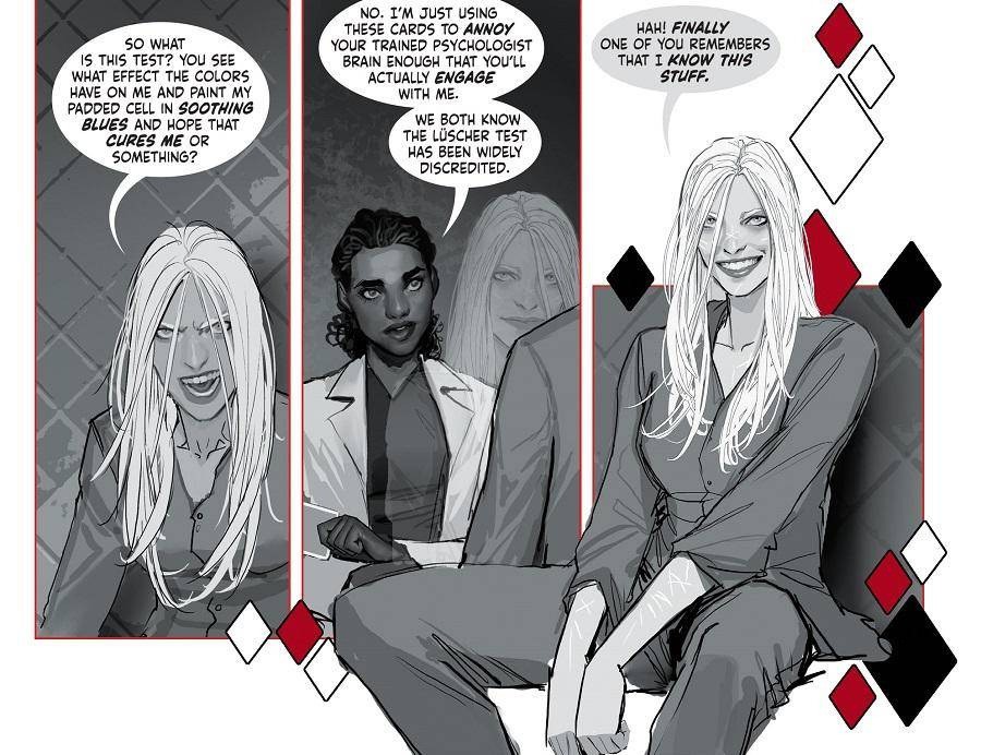 "DC Comics presenta ""Harley Quinn: Black + White + Red"" 3"