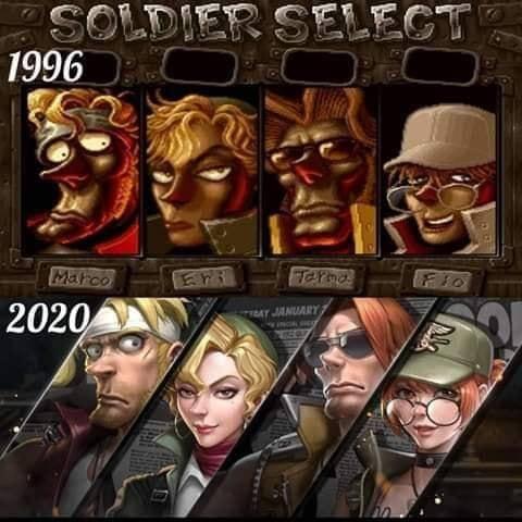 ¡Nostalgia total! Metal Slug Code: J ha sido anunciado 1