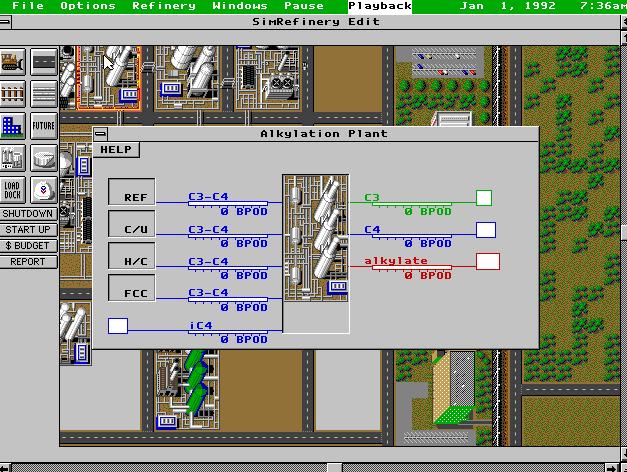 """SimRefinery, el juego """"perdido"""" de Maxis 13"""