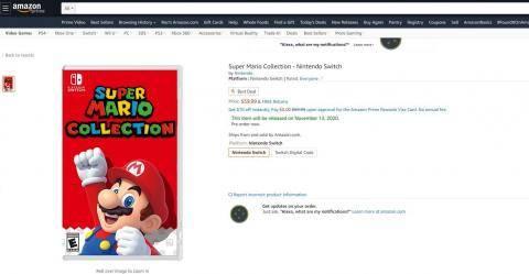 Nintendo, Mario, Super Mario Collection,