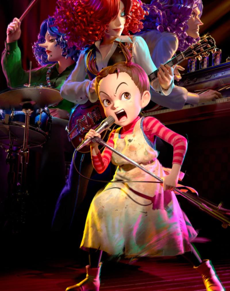Earwig and the Witch: Studio Ghibli presenta las primeras imágenes de su 1er película 3D CGI 1