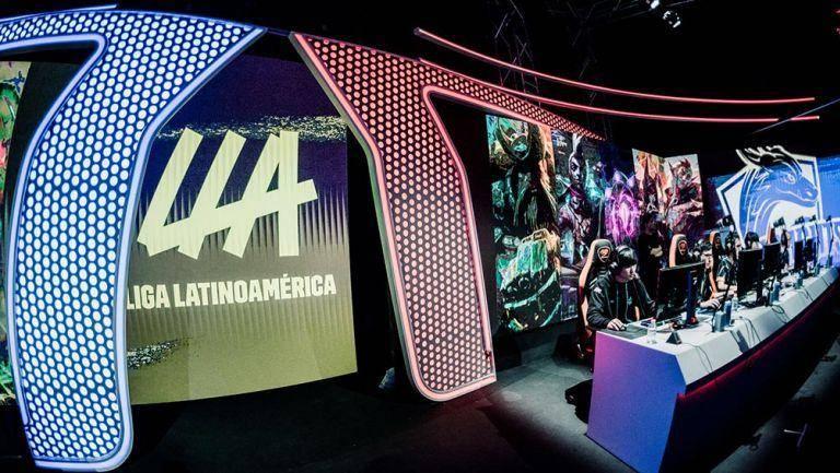 Liga Latinoamericana de League of Legends a Tope 1