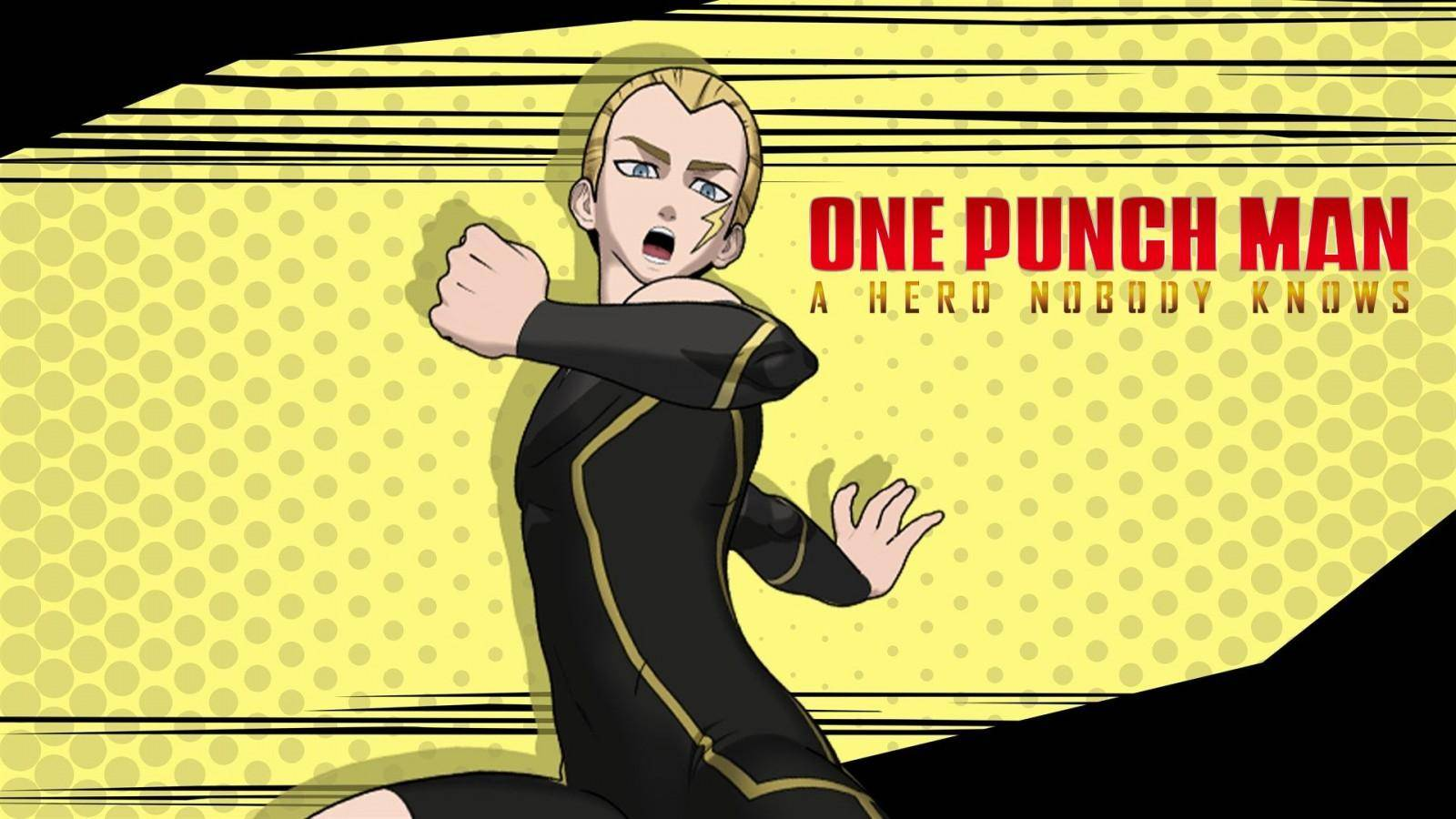 One Punch-Man: A Hero Nobody Knows lightning max