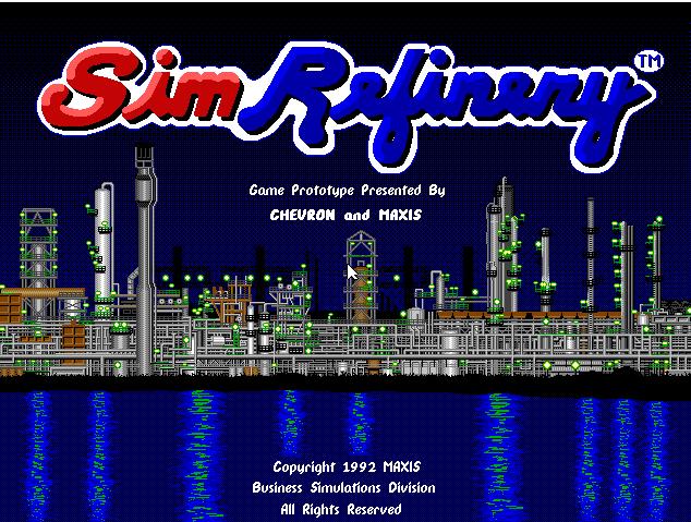 """SimRefinery, el juego """"perdido"""" de Maxis 2"""