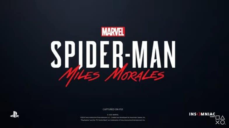 Miles Morales protagoniza la secuela de Spider-Man de PS5 2