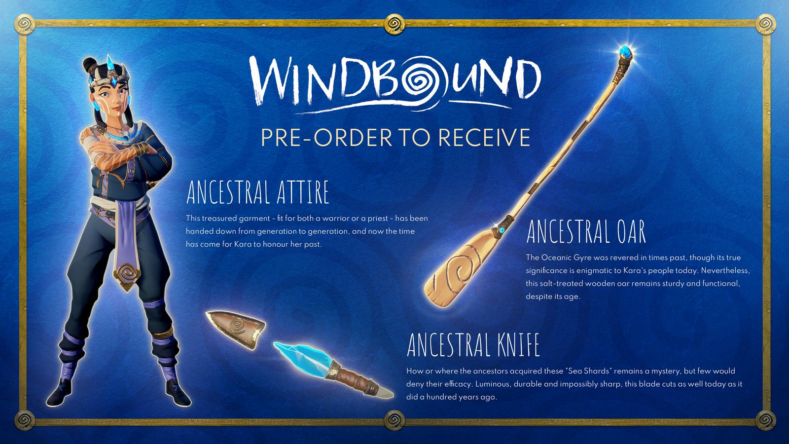 ¡Las pre-ordenes de Windbound ya están disponibles! 1