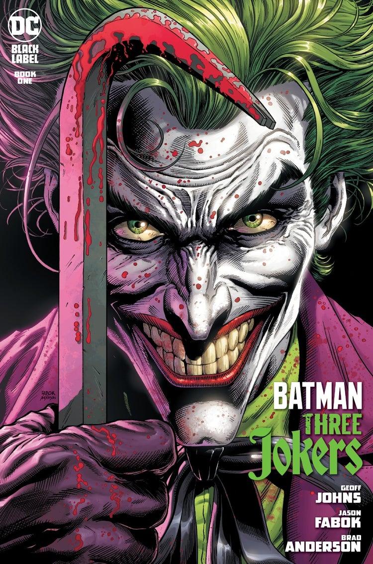 #ComicConAtHome: Primer vistazo de Batman - Three Jokers 1