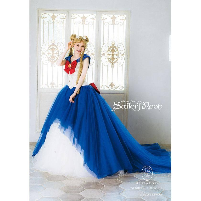 Mira estos increíbles vestidos de novia inspirados en Sailor Moon 3